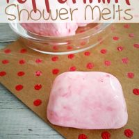 DIY Peppermint Shower Melts