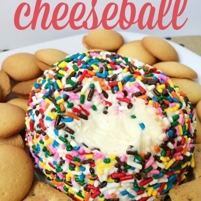 Sugar Cookie Cheeseball