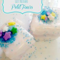 Easy No-Bake Petit Fours