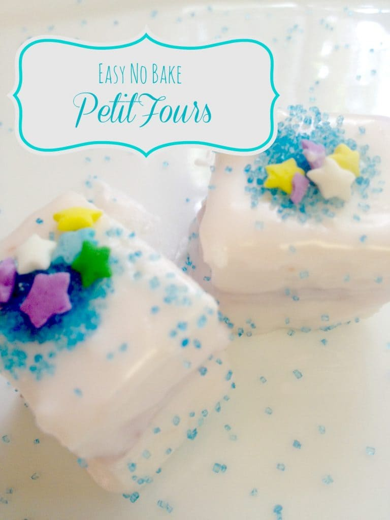 Easy No-Bake Petit Fours