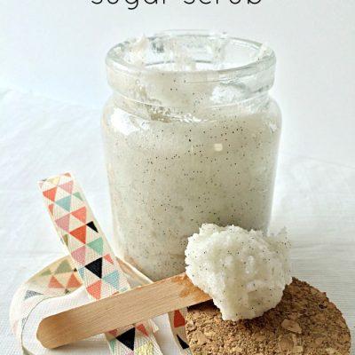 Raspberry Vanilla Bean Sugar Scrub