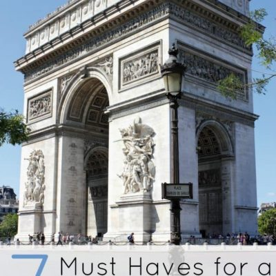 7 Must Haves for a Paris Staycation