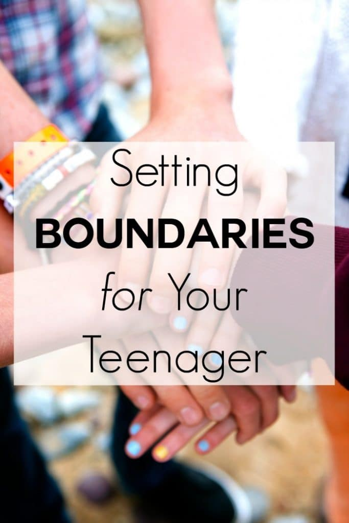 Setting Boundaries for Your Teenager