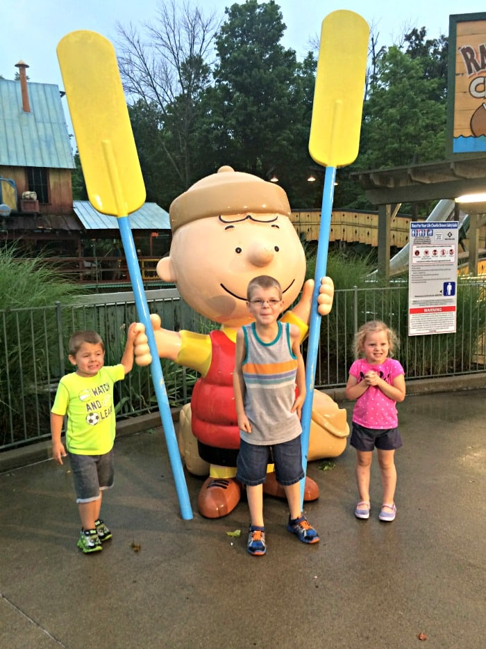 Charlie Brown at Kings Island