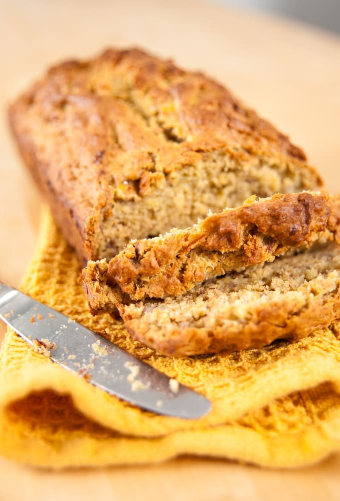 Vegan Eggless Banana Bread