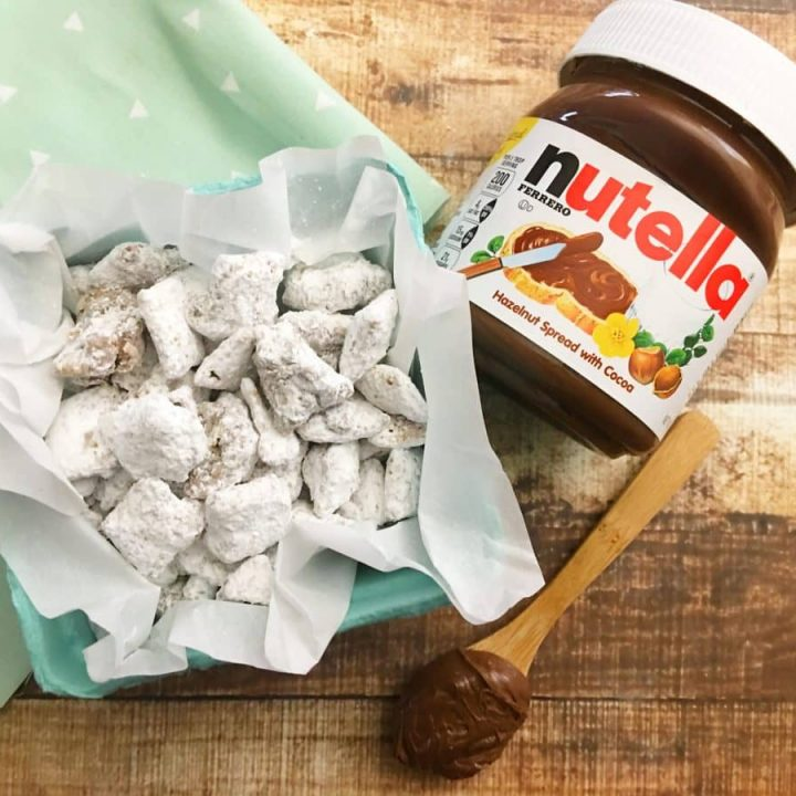 Nutella Puppy Chow