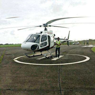 Arriving in Saint Lucia in Style – Helicopter Airport Transfer