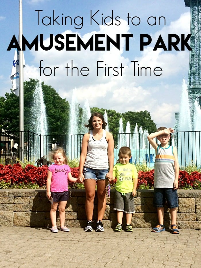 Taking Kids to an Amusement Park for the First Time