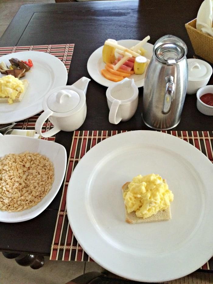 Breakfast at Cap Maison
