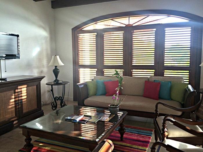 Cap Maison villa living area