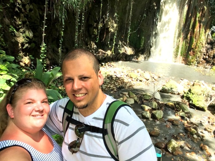 Diamond Waterfall selfie