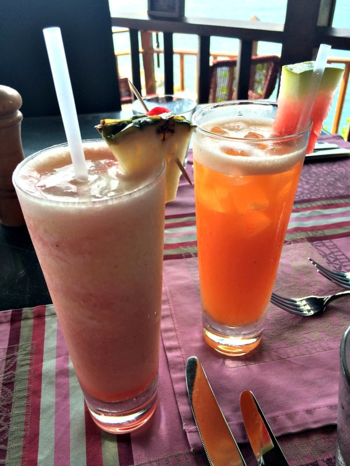 Lava Flow and Mai Tai at The Cliff at Cap