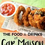The food and drinks of Cap Maison in Saint Lucia