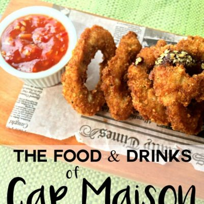 The Food and Drink at Cap Maison in Saint Lucia