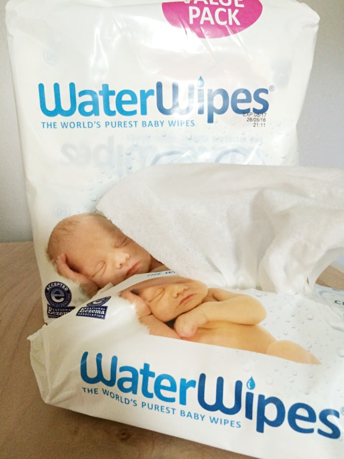 WaterWipes are purest baby wipes in world, no chemicals