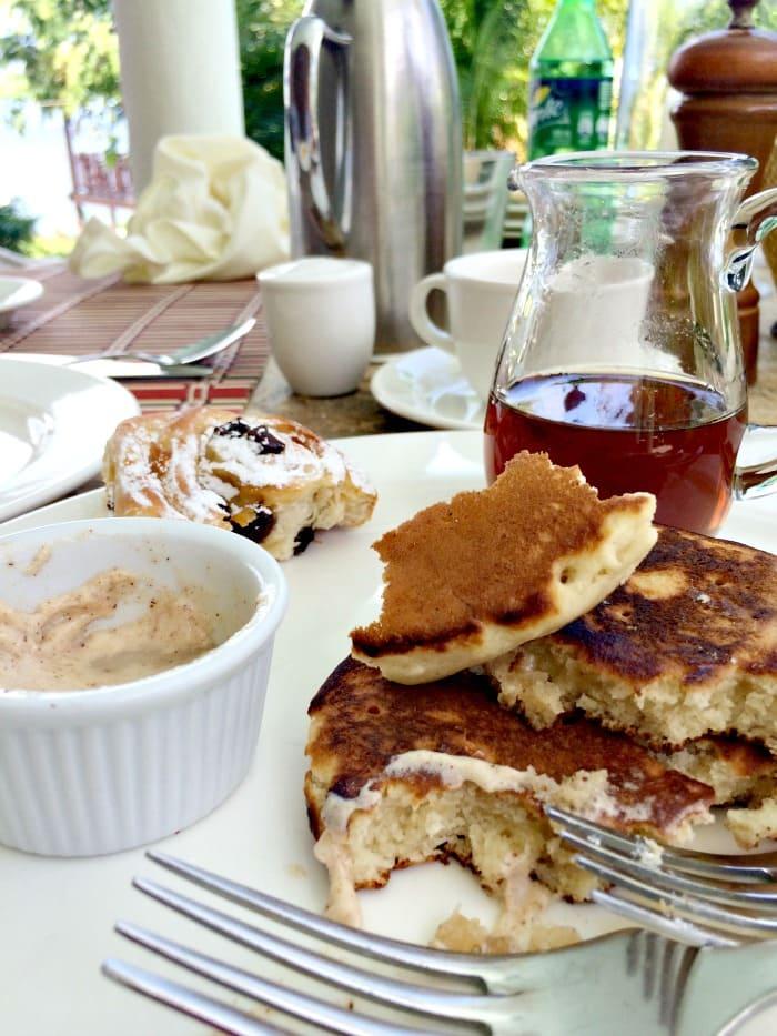 pancakes at Cap Maison
