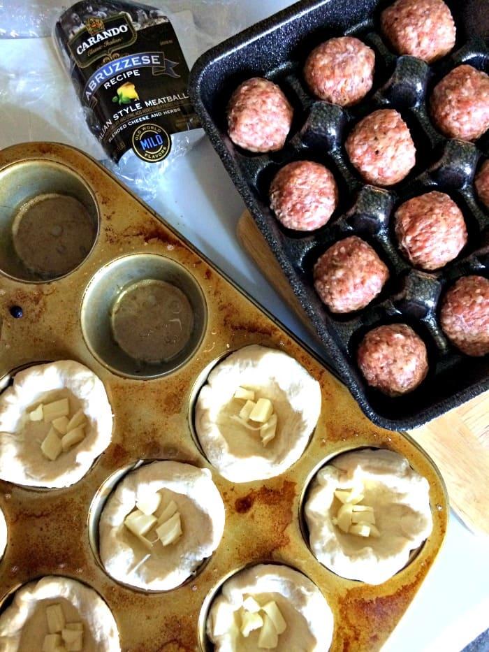 Carando Italian Style Meatball Cups