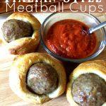 Italian Style Meatball Cups