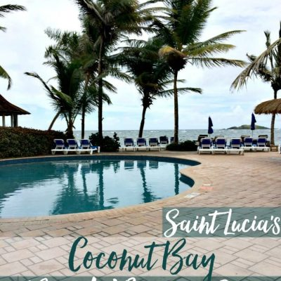 Coconut Bay Beach Resort and Spa in Saint Lucia Overview