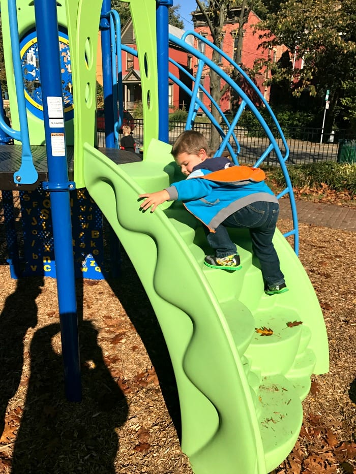 New Cincinnati Playground Offers Plenty of Activities for Kids