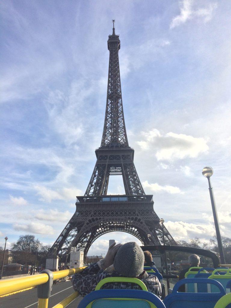Visiting Paris France