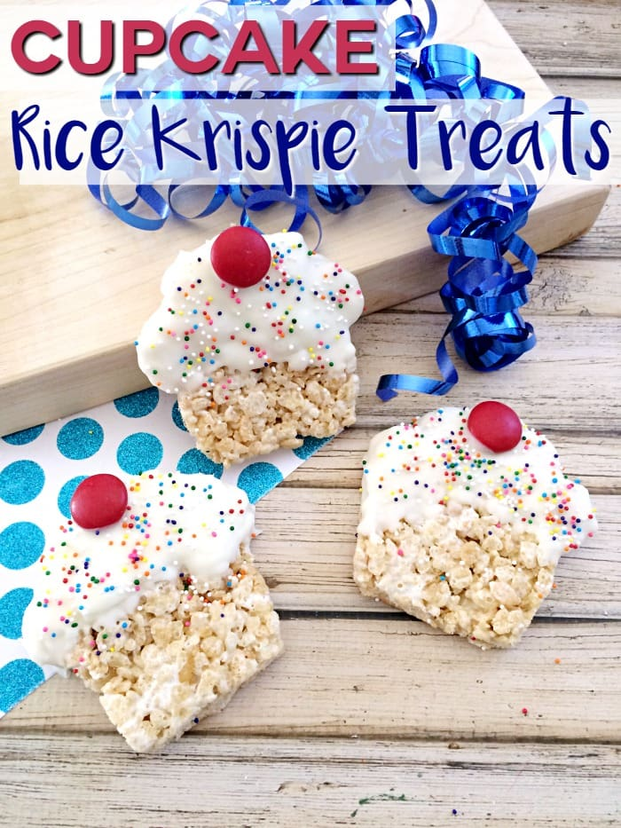 Cupcake Rice Krispie Treats Moments With Mandi