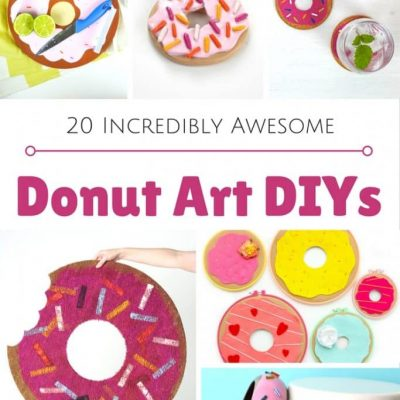 DIY Donut Art Projects and Crafts