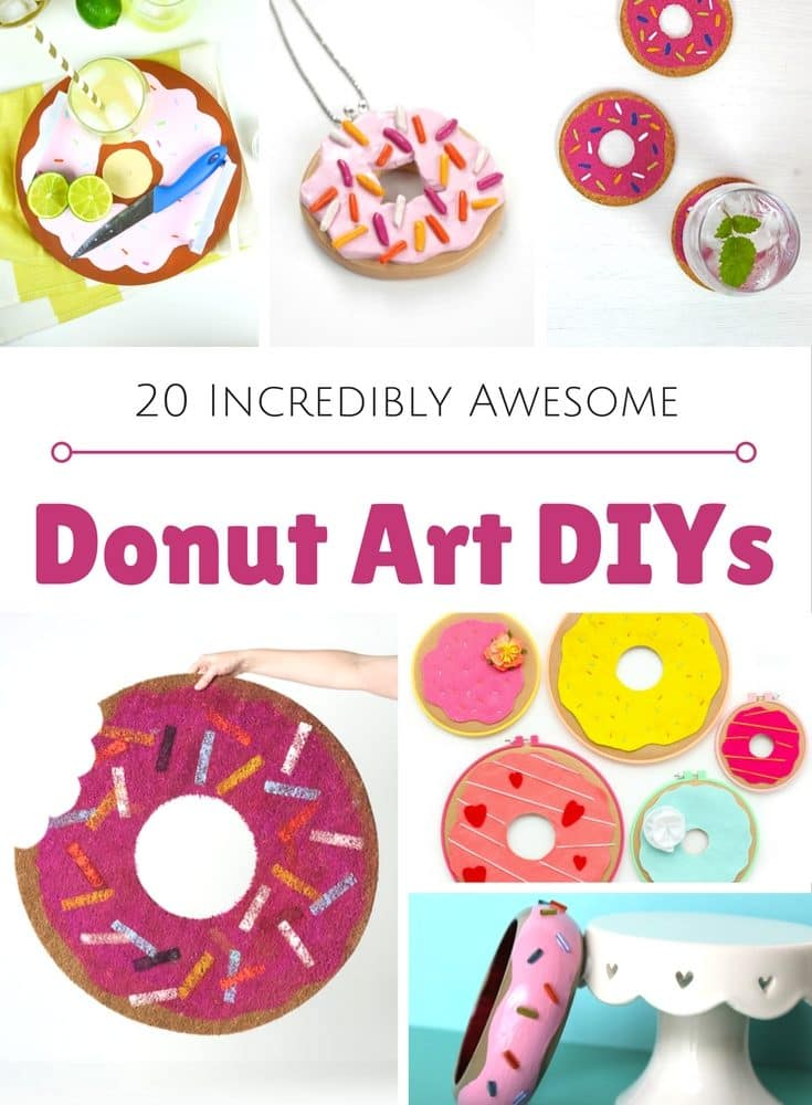 DIY Donut Projects, Crafts and More