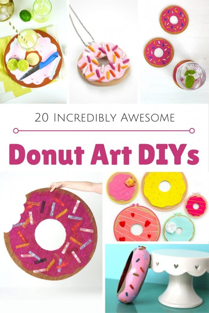 DIY Donut Projects and Crafts