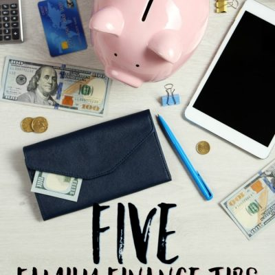 Five Family Finance Tips