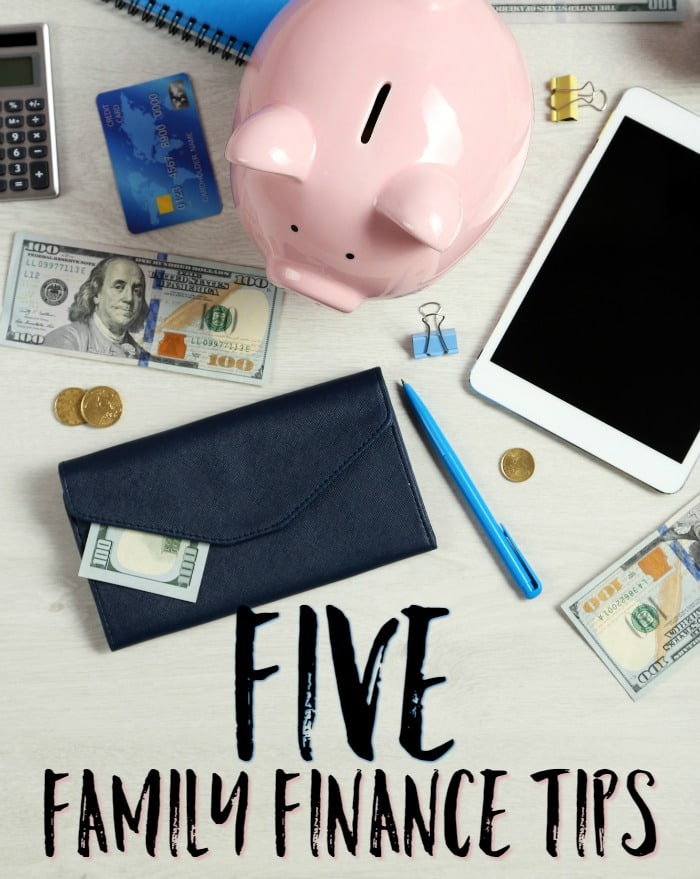 Five Family Finance Tips