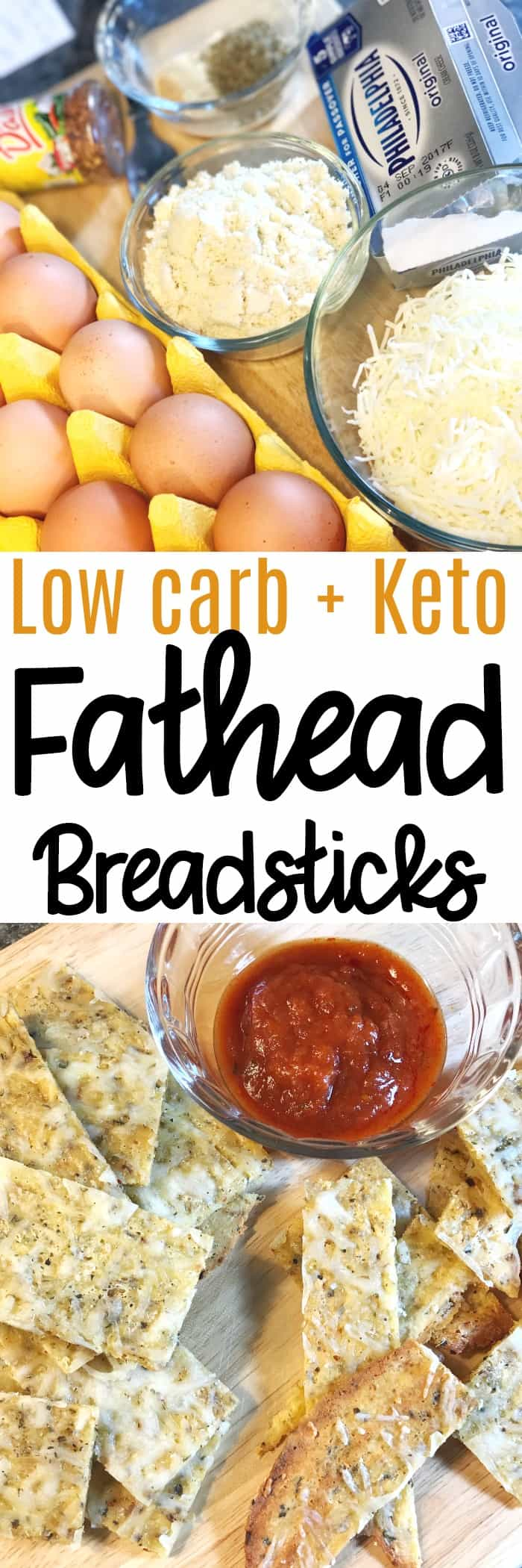 Low Carb and Keto Fathead Cheese Sticks