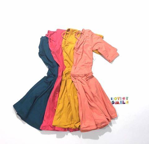Dot Dot Smile dresses and rompers for girls