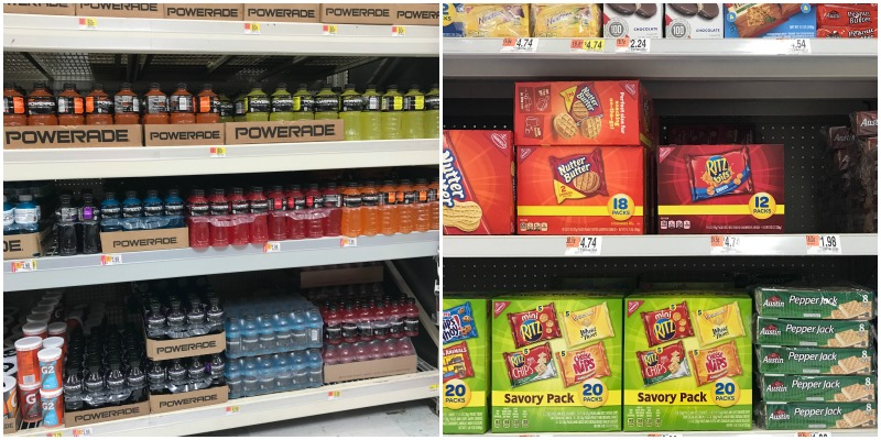 NABISCO and POWERADE at Walmart