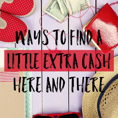 Finding A Little Extra Cash Here And There Is Easy