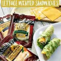 Low Carb Keto Friendly Lettuce Wrapped Sandwiches