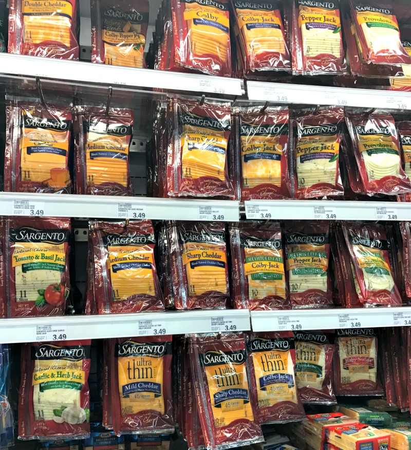 Sargento cheese at Meijer