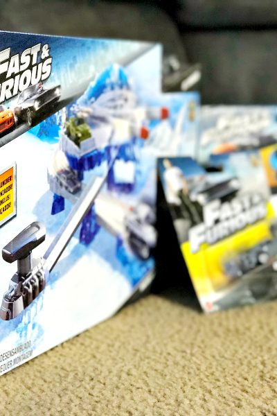 Fast & Furious Frozen Missile Attack playset