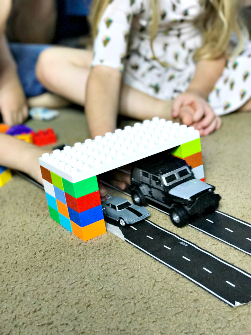 Get creative to make playing with cars more fun and interactive
