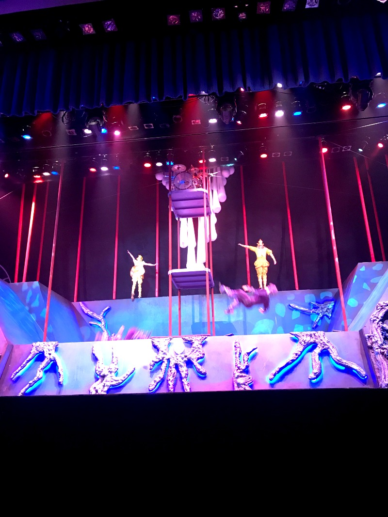 Origins Cirque Experience at Kings Island