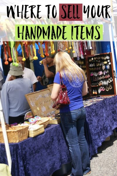 Where to sell your handmade items