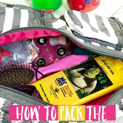 How To Pack The Perfect Mom Bag