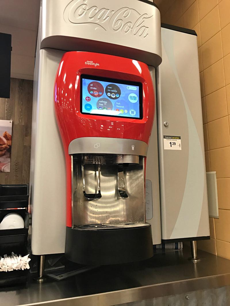 Coke Freestyle Machine at Kroger
