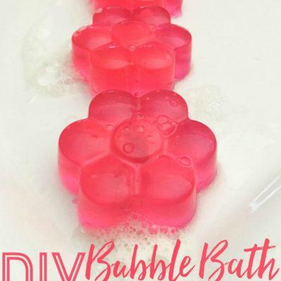 DIY Bubble Bath Jellies