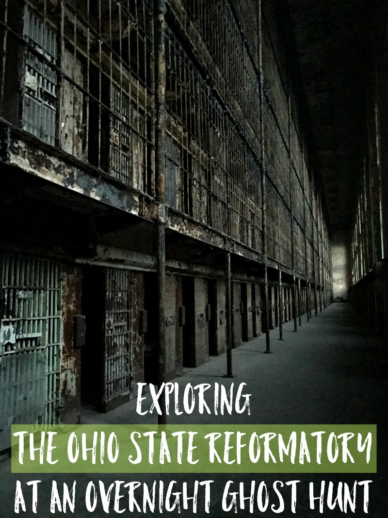 Exploring The Ohio State Reformatory At An Overnight Ghost Hunt