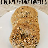 Low Carb and Keto Friendly Everything Bagels