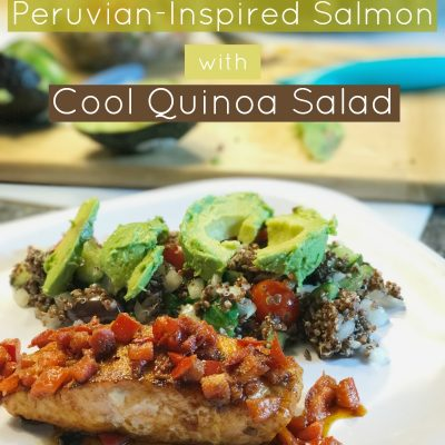 Prep+Pared Meal Kit: Peruvian-Inspired Salmon with Cool Quinoa Salad