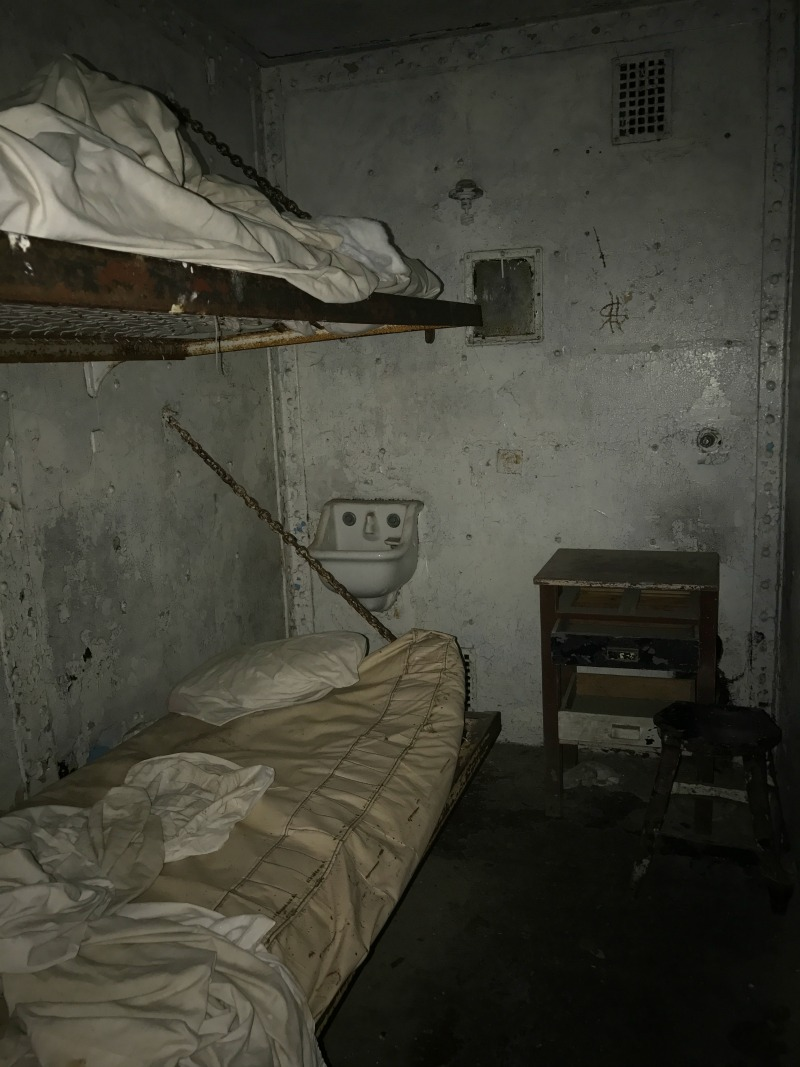 Prison cell at Ohio State Reformatory