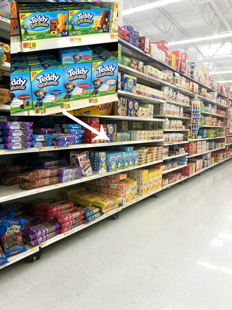 TEDDY SOFT BAKED Filled Snacks at Walmart