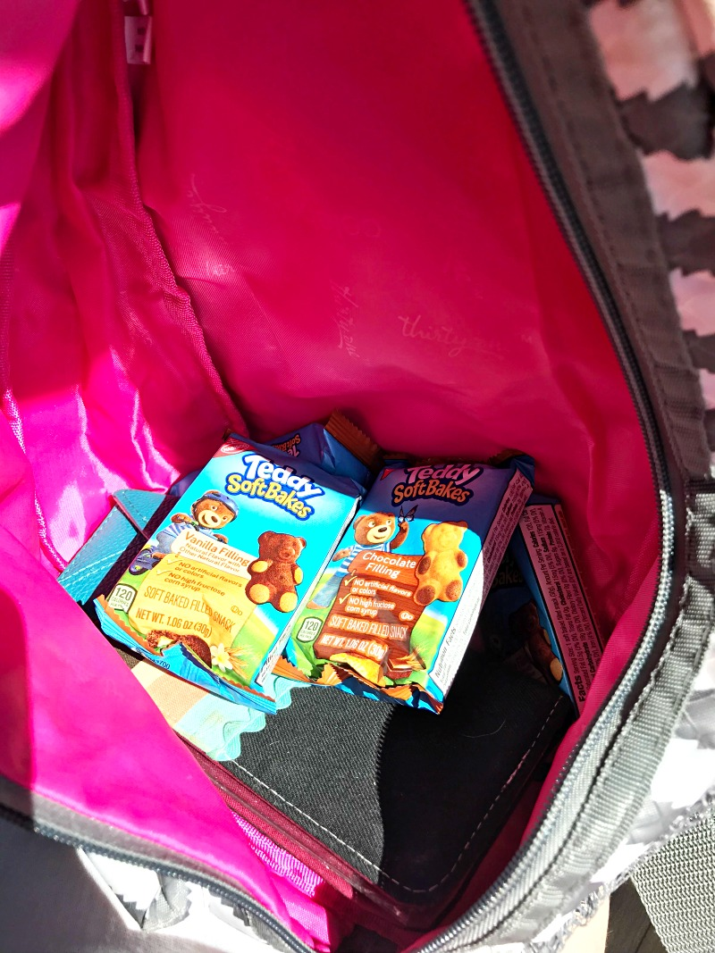 TEDDY SOFT BAKED Filled Snacks for on the go snacking